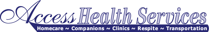access health services homecare companions clinics respite transportation logo