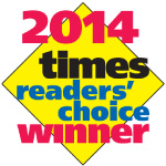 2014 times readers' choice winner