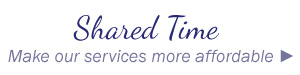 Shared time | Make our services more affordable