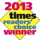 2013 times readers' choice winner